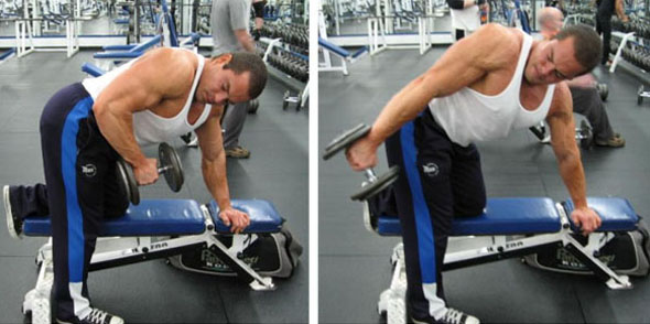 Tricep Kick Backs - Dumbbell Kickback