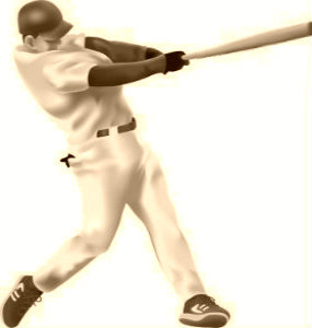 Try swinging a baseball bat slow & controlled and see how far you hit the ball...