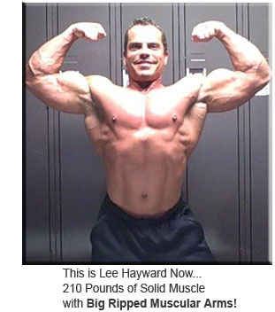 Lee Hayward 210 Pounds Of Solid Muscle & Big Muscular Arms