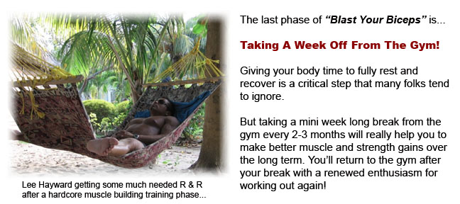 Take A Week Off From The Gym Every 2-3 Months